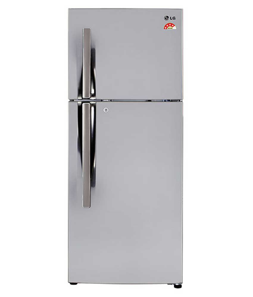 LG 260 LTR 4 Star GL-I292RPZL Double Door Refrigerator - Shiny steel
