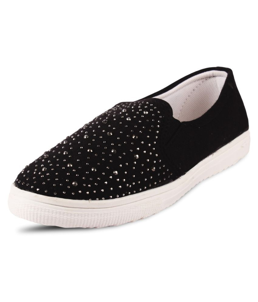 Anand Archies Black Casual Shoes