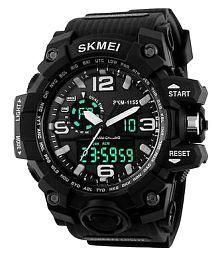 Skmei Black Sports Watch For Men