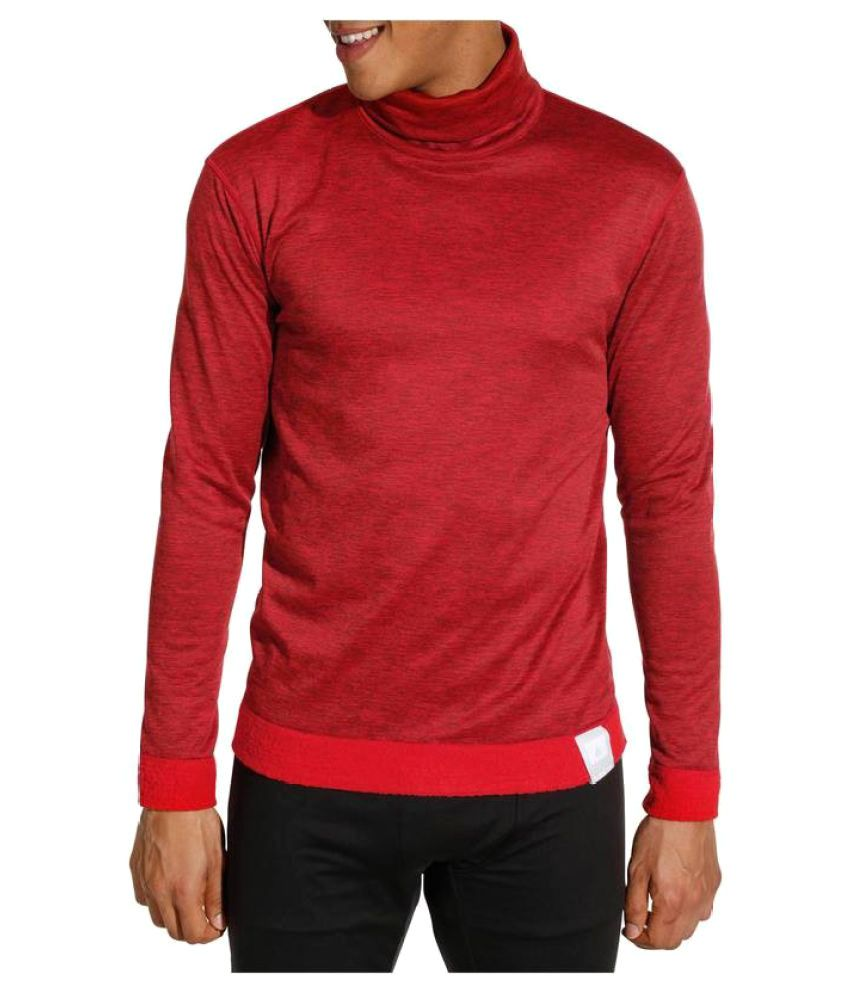WEDZE High Neck Reversible Skiing Thermal Base Layer