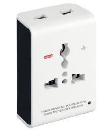Milltec 3 Pin Universal Travel Plug - Pack Of 2