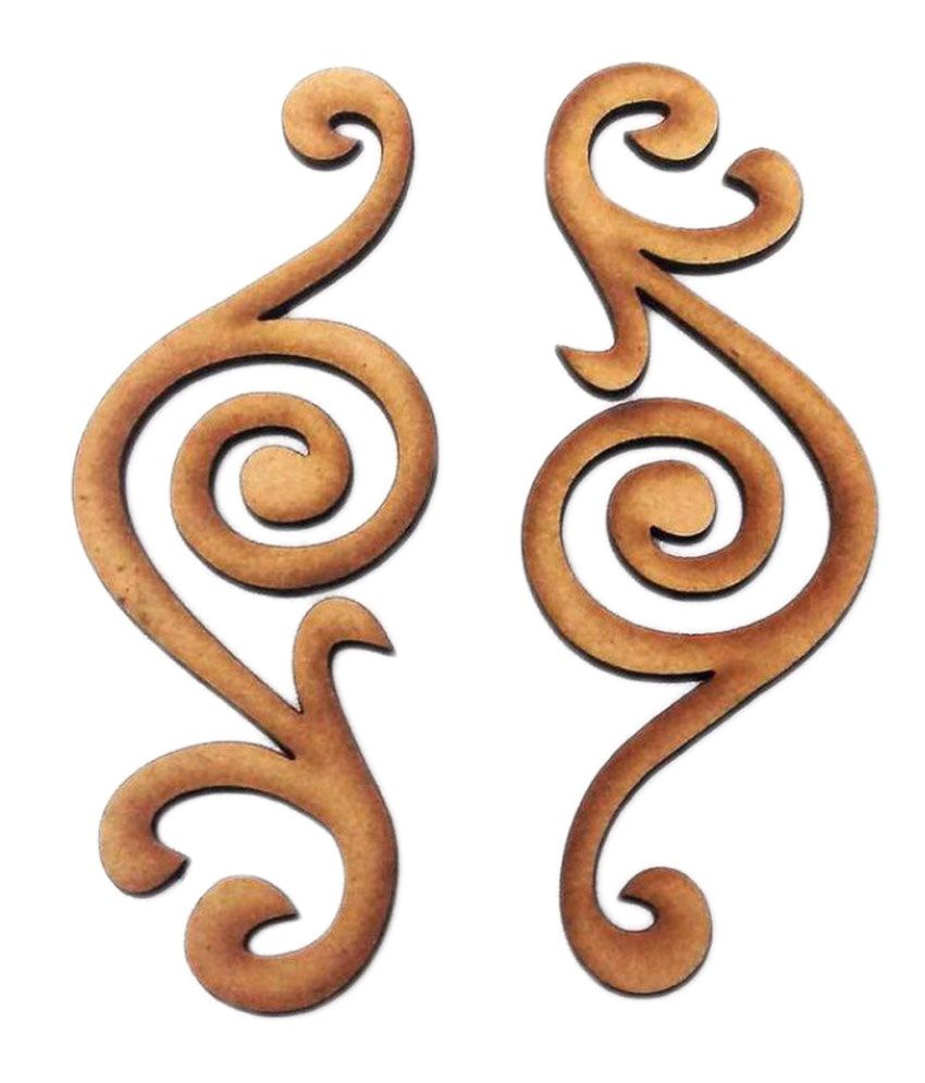 Craftsneed Brown Craftsneed Swirls  available at snapdeal for Rs.71