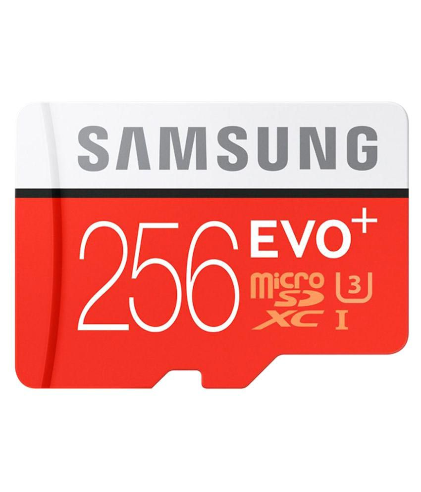 Samsung 256 Gb Micro Sd 10 Mbps  available at snapdeal for Rs.9998