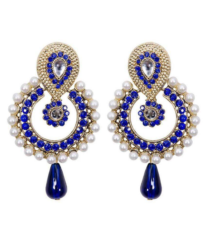 Styylo Fashion Multicolour Chandeliers Earrings