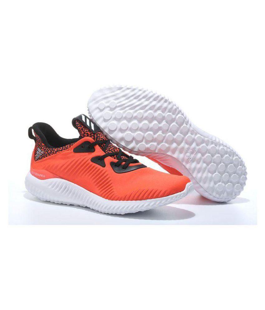 more photos 5d11a 13769 adidas alphabounce orange,ordred chaussures Adidas Alphabounce shoes Orange  White