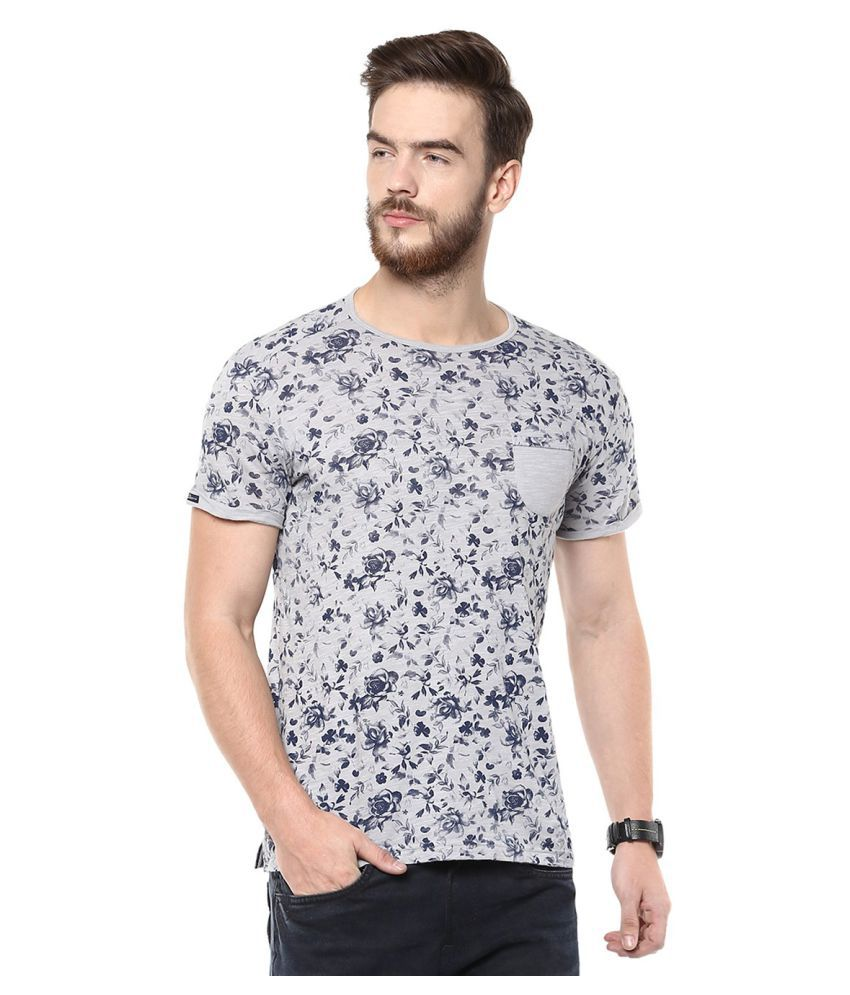 Mufti Grey Round T-Shirt