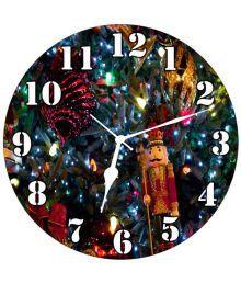 3d India Circular Analog Wall Clock - 30