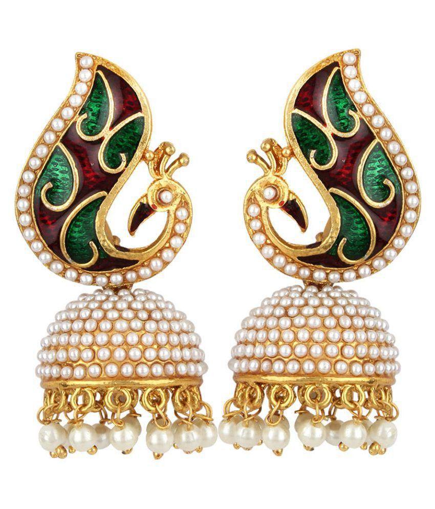 Jewels Guru Multicolor Earrings