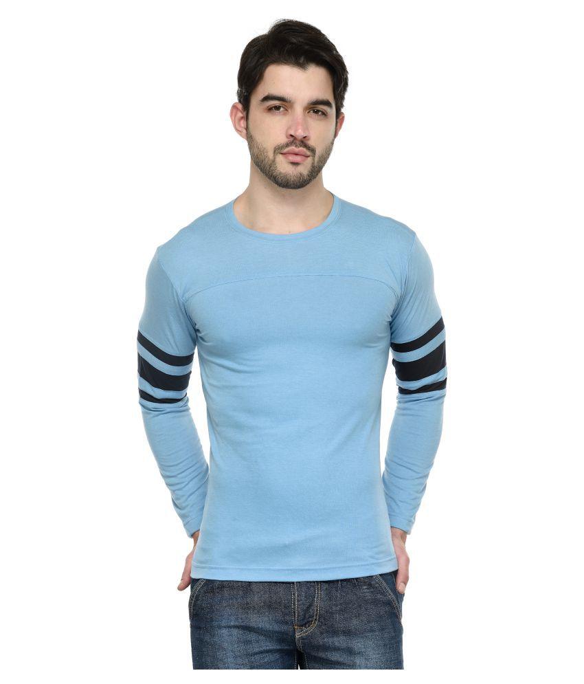 Teesort Blue Round T-Shirt