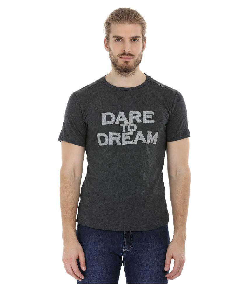 Zobello Black Round T-Shirt