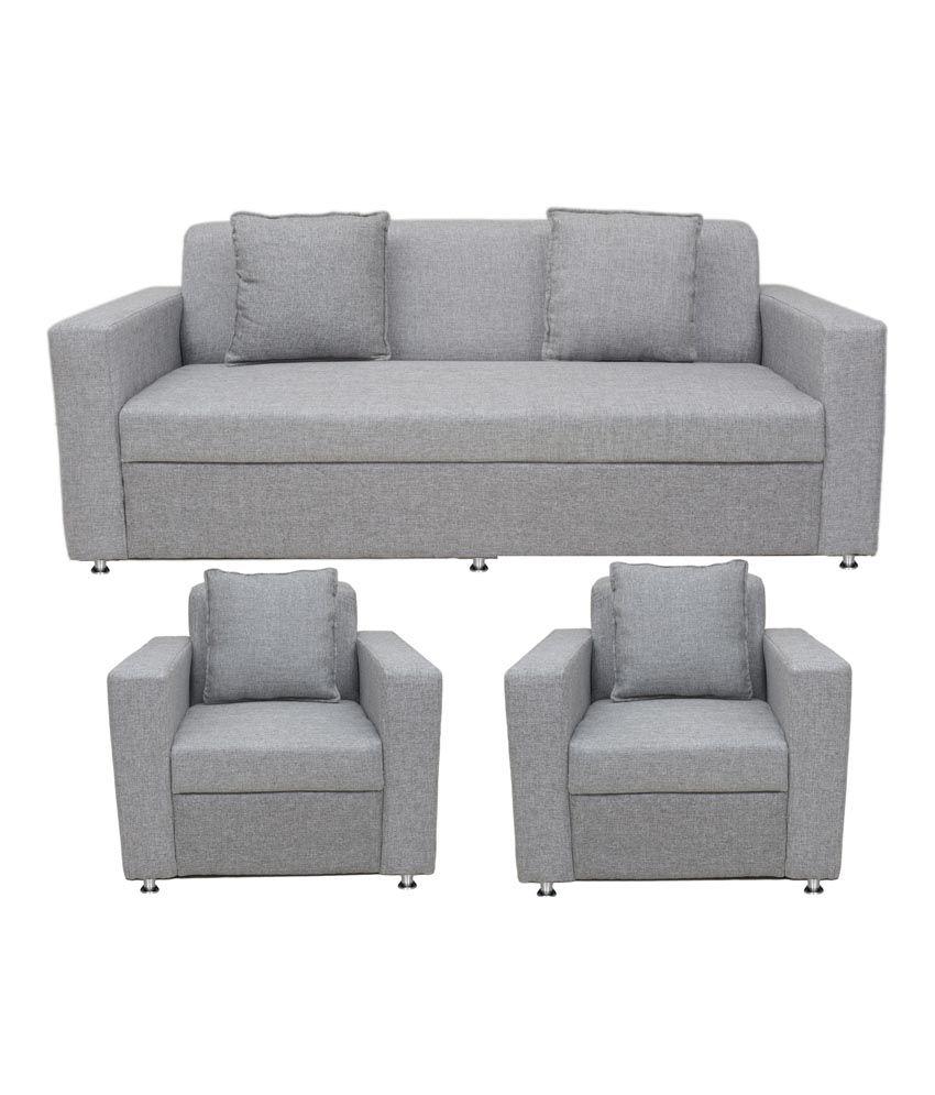 BLS Lexus 3+1+1 Sofa Set: Buy Online At Best Price In