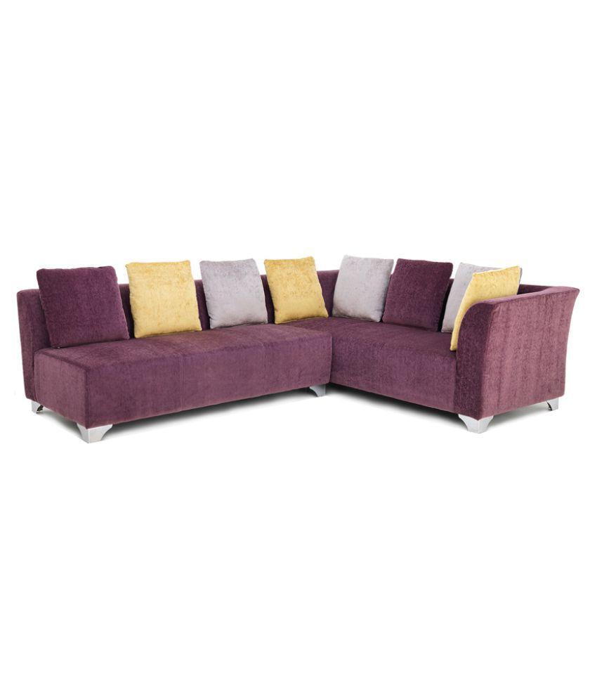 Fabbulls Fanchonn Fabric L Shape Sofa ...
