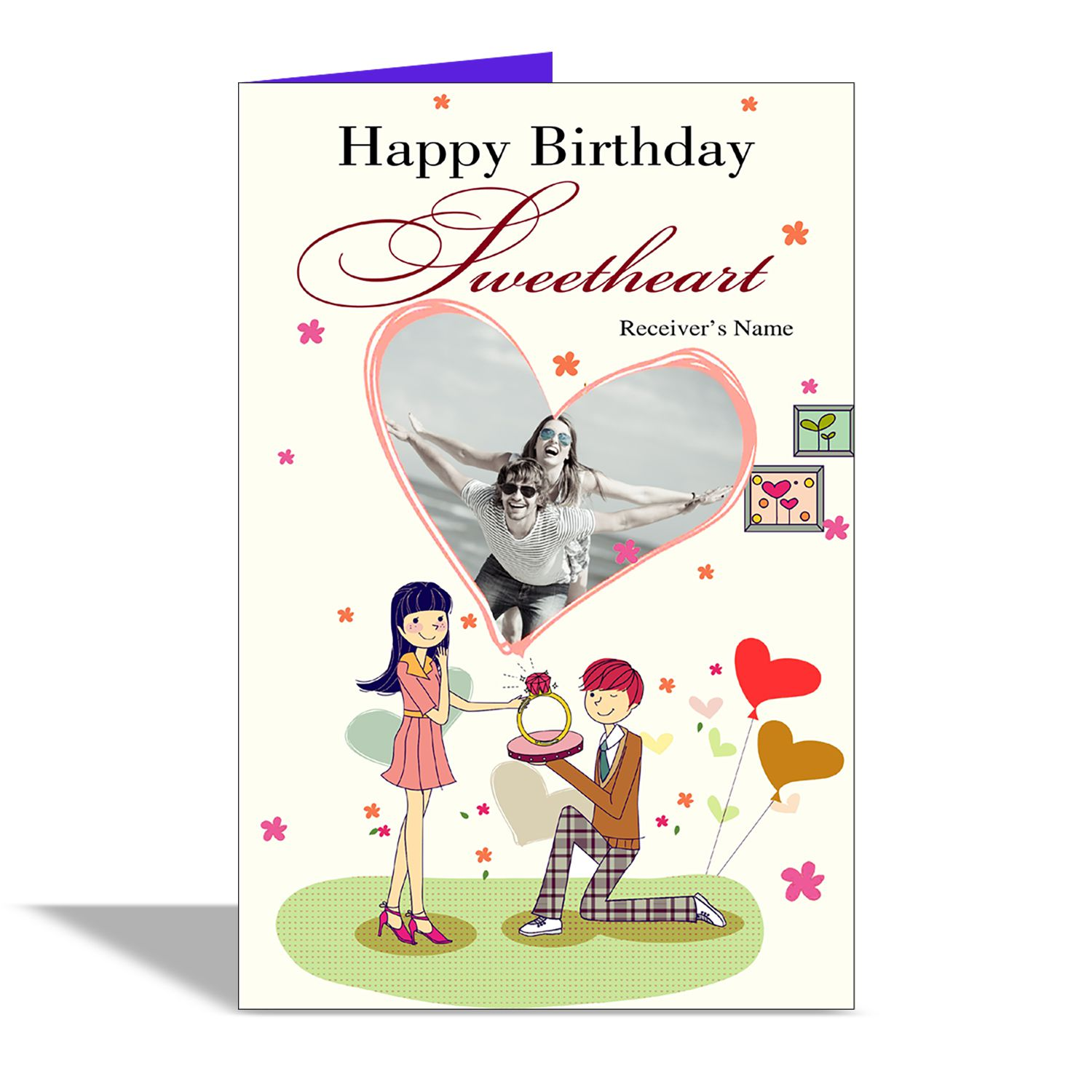 Alwaysgift Happy Birthday Sweetheart Greeting Card Buy Online At Best Price In India