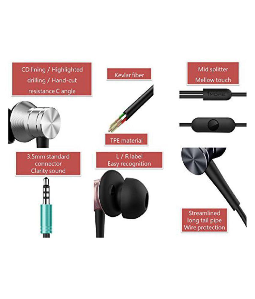 ... 1MORE PISTON FIT In-Ear Headphones / Earphones with MIC -Space Gray ...
