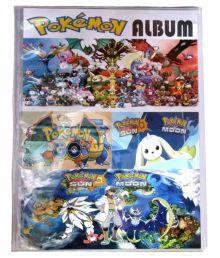 Azi Multicolor New Pokemon Card Album Action Gear