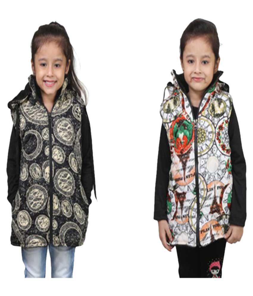 Qeboo Multicolor Nylon Jacket - Pack of 2