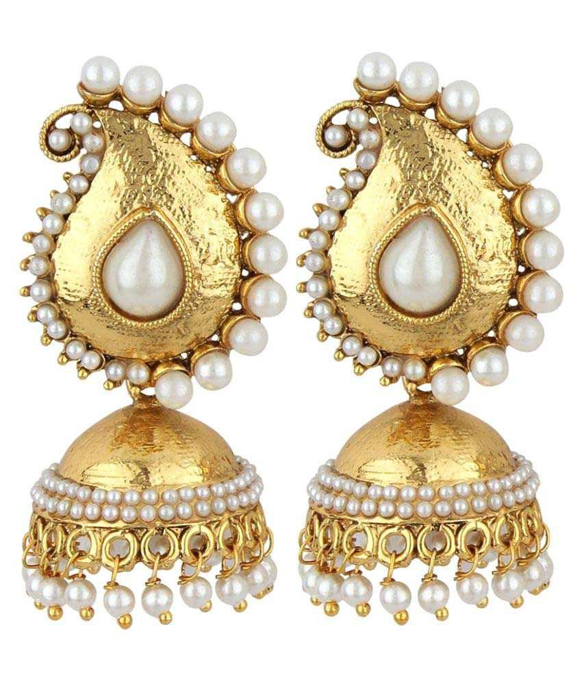 Jewels Capital Exclusive Golden Earrings