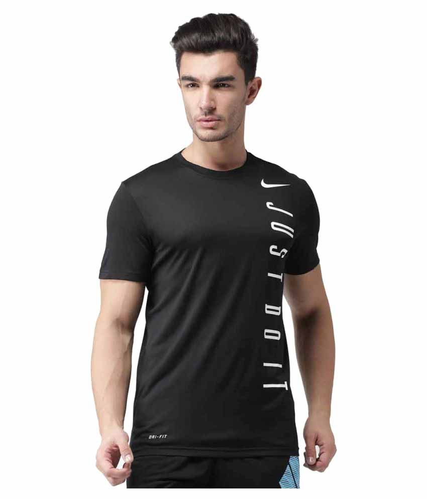 Nike Legend 2.0 Vertical Jdi Men's T-Shirt - Black & White