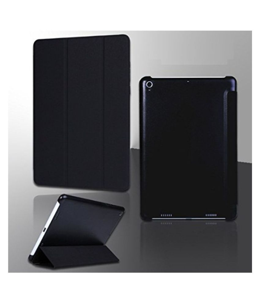 ProElite (TM) Smart Trifold Flip Case cover for Xiaomi Mi Pad (Black) (Sleep/Wake)