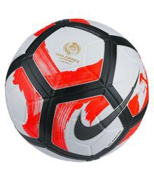 Nike Pitch Red Multi-color Football Size- 5