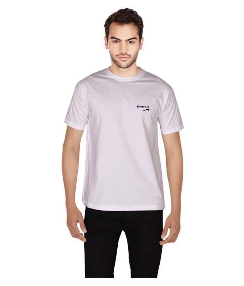 Bared White Round T-Shirt