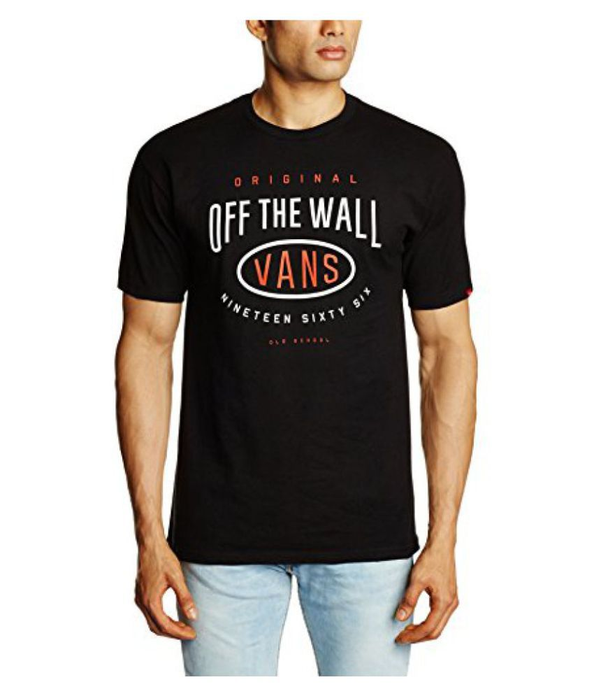 VANS Mens Cotton T-Shirt