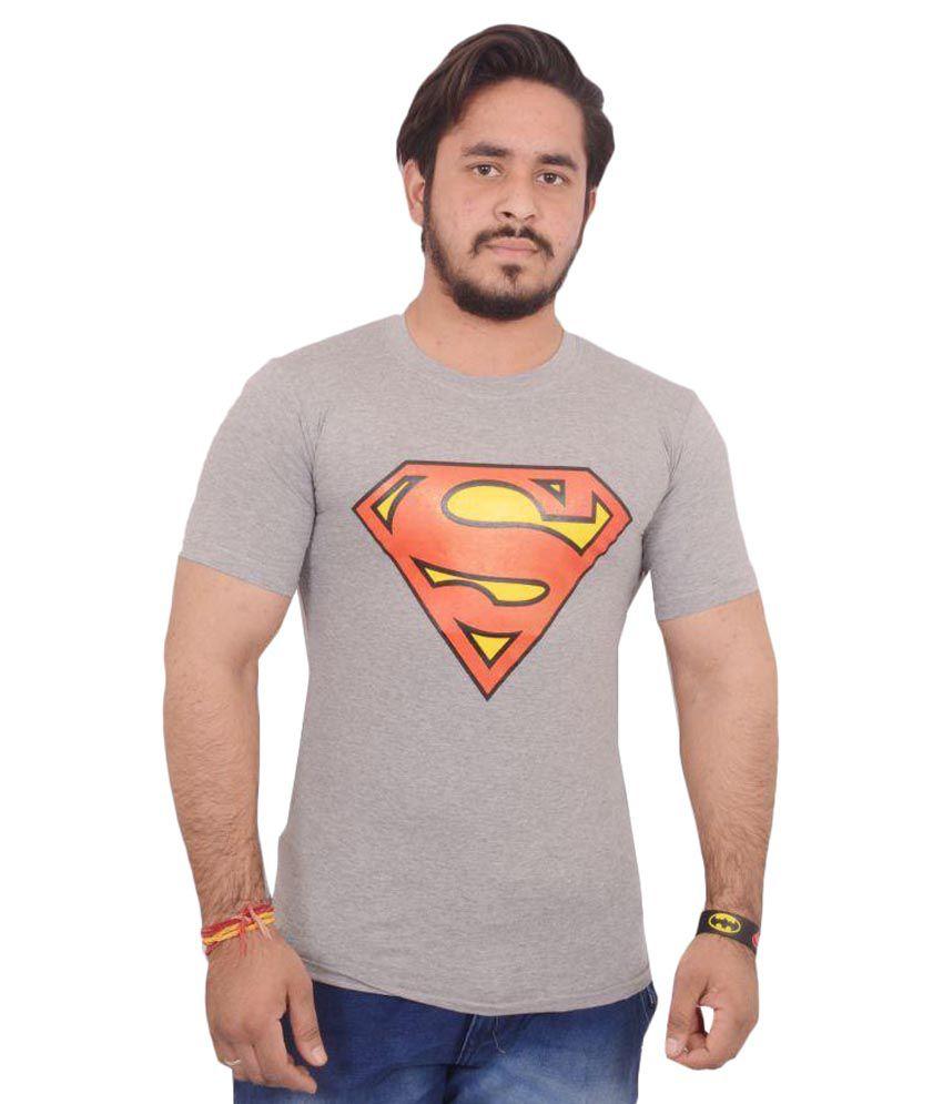Hero & Piyush Grey Round T-Shirt