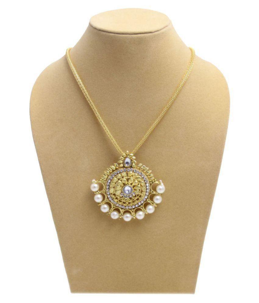 Yeki Fashion Golden Necklace Set