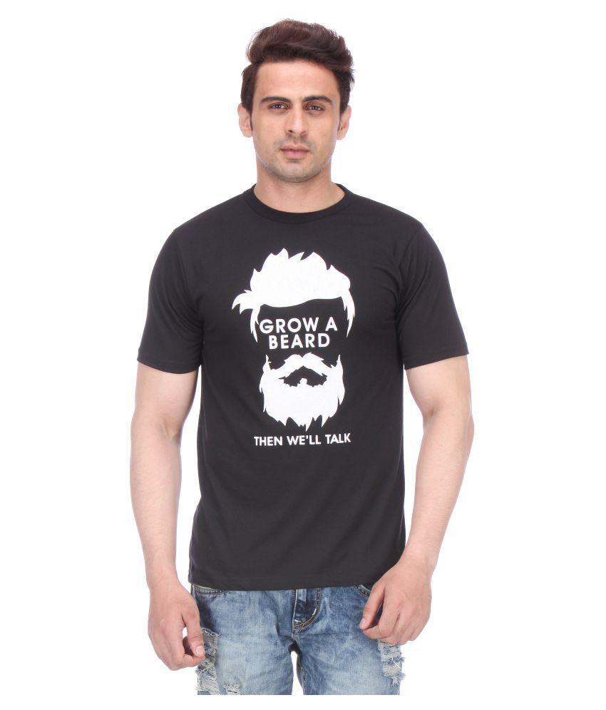 Miraar Black Round T-Shirt