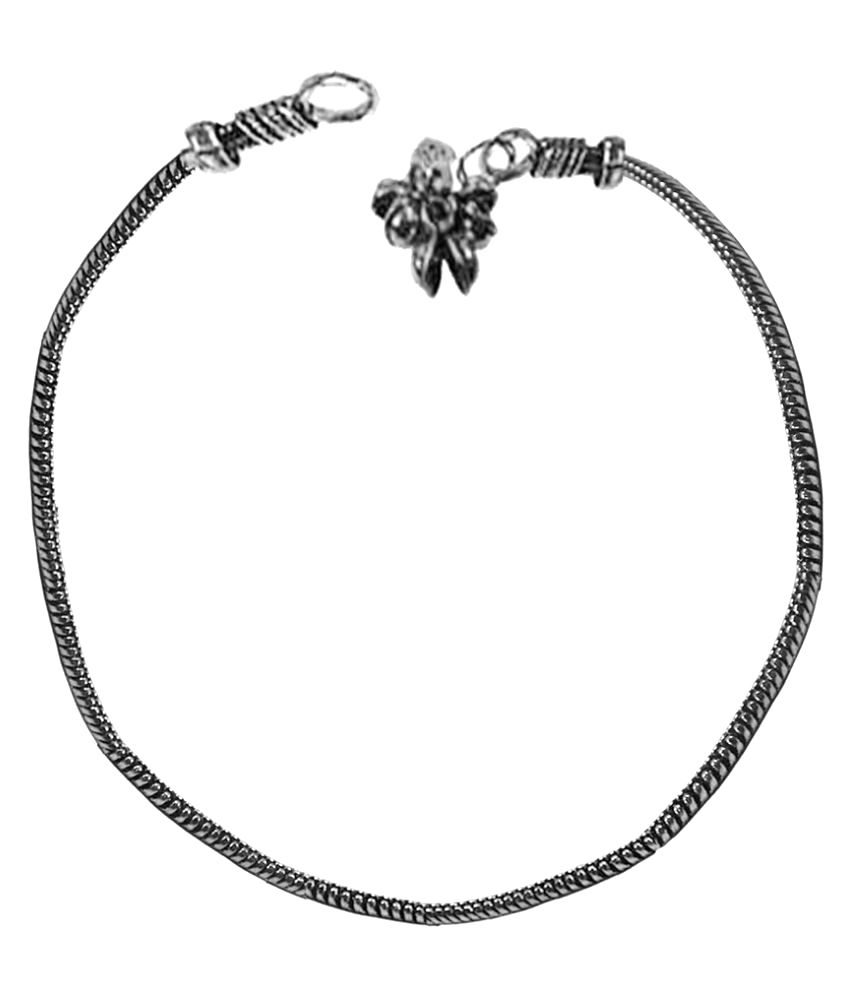 Collana Silver Alloy Anklets