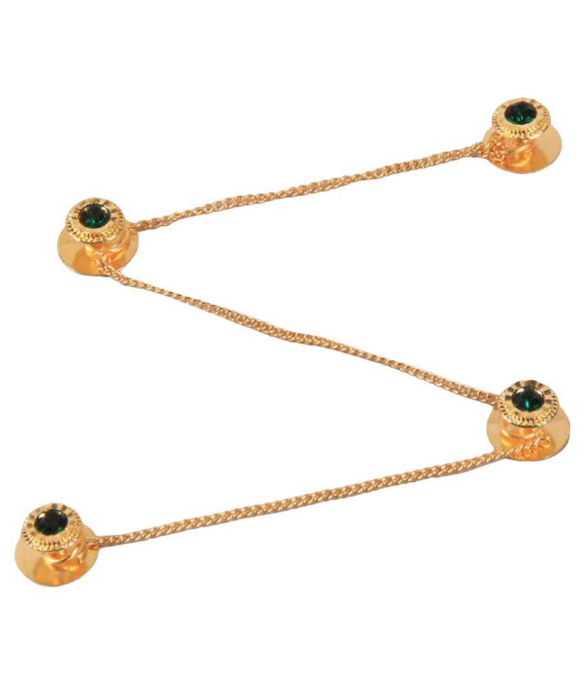 Sushito Golden Designer Kurta Buttons