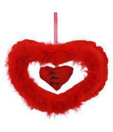 Dealbindaas Valentine Double Heart Red Stuff