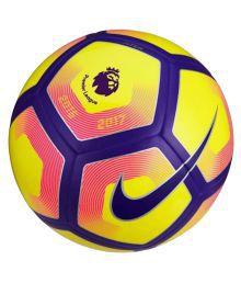Nike Pitch Pl Yellow Football Size- 5