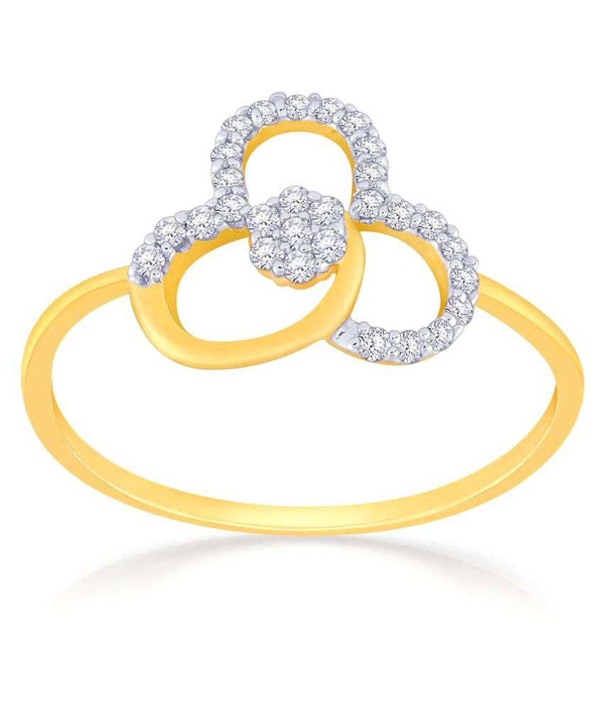 Malabar Gold And Diamonds 18k Gold Ring