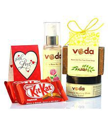 Veda Essence Natural Beauty Kit For Acne-prone Skin. Skin Tonic 120 Ml Pack Of 2