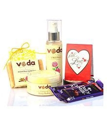 Veda Essence Natural Beauty KitforAgeing Skin Skin Tonic 250 Gm Pack Of 2