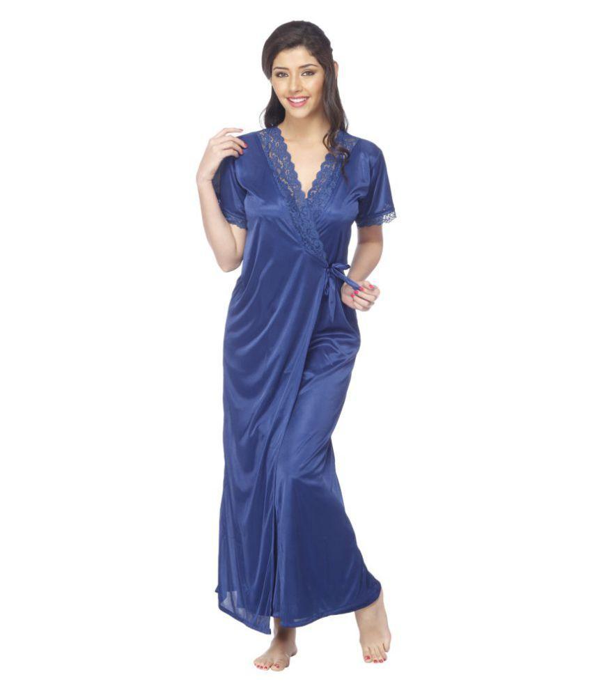 Vixenwrap Poly Satin Nighty & Night Gowns