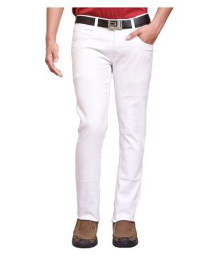 White Jeans :Buy White Jeans Online at Best Prices in India - Snapdeal