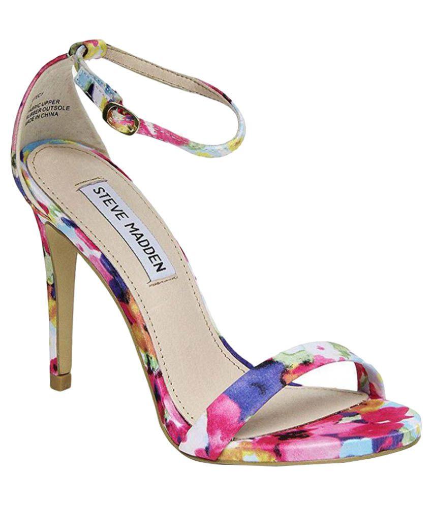 Steve Madden Multi Color Stiletto Heels