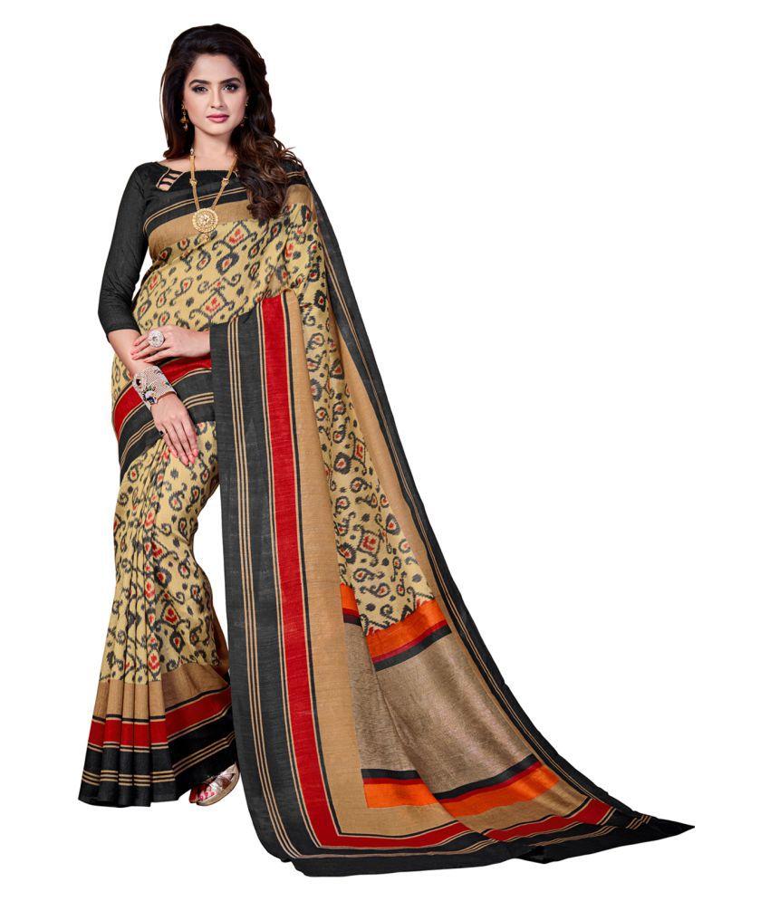 Trendyara Multicoloured Cotton Saree