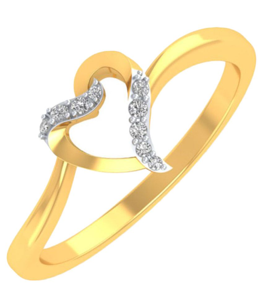 P.N.Gadgil Jewellers 18k Yellow Gold Ring