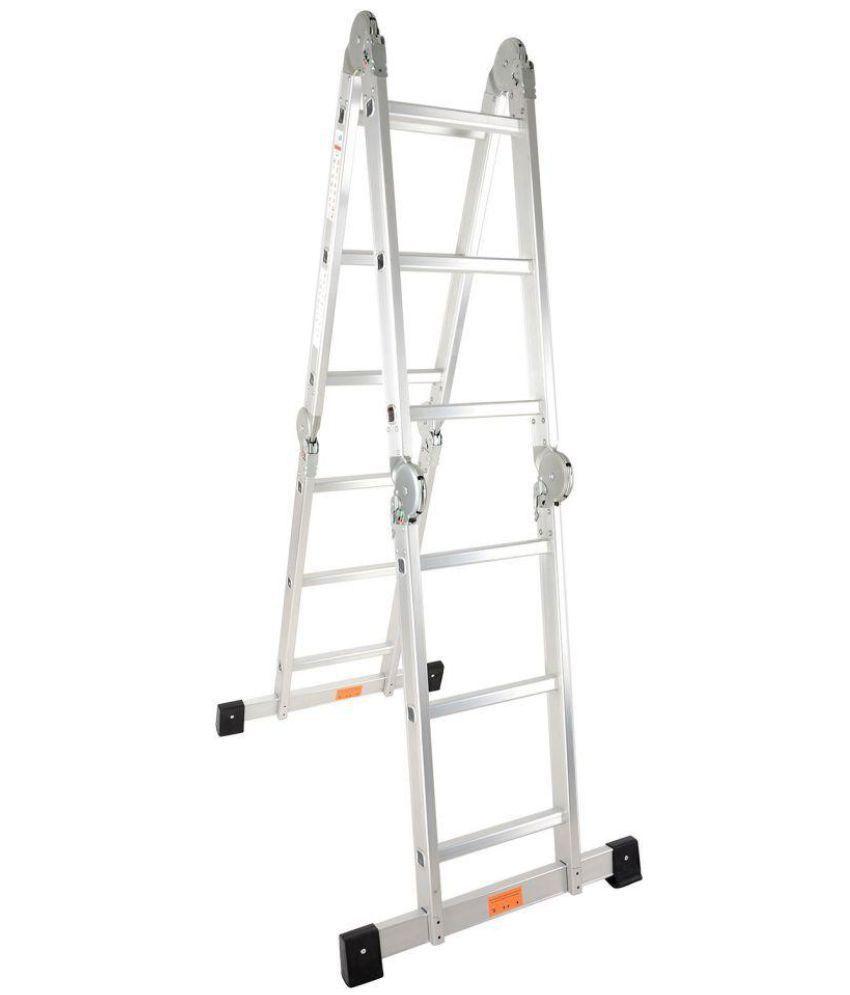 Triton Aluminium Extension Ladder Silver