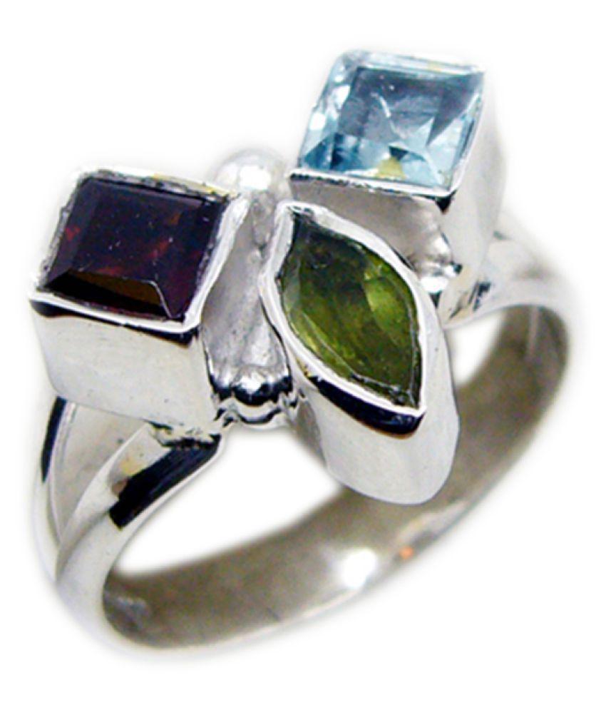Riyo 92.5 Silver Ring