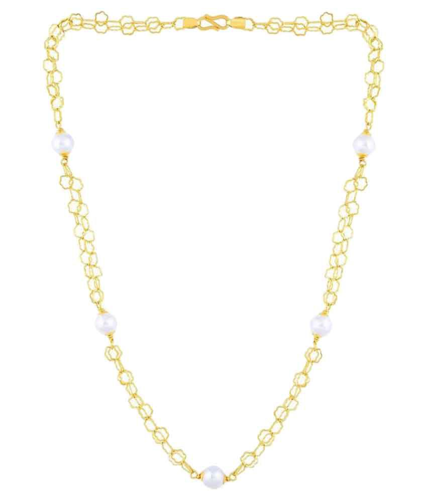 Malabar Gold and Diamonds 22k BIS Hallmarked Gold Necklace