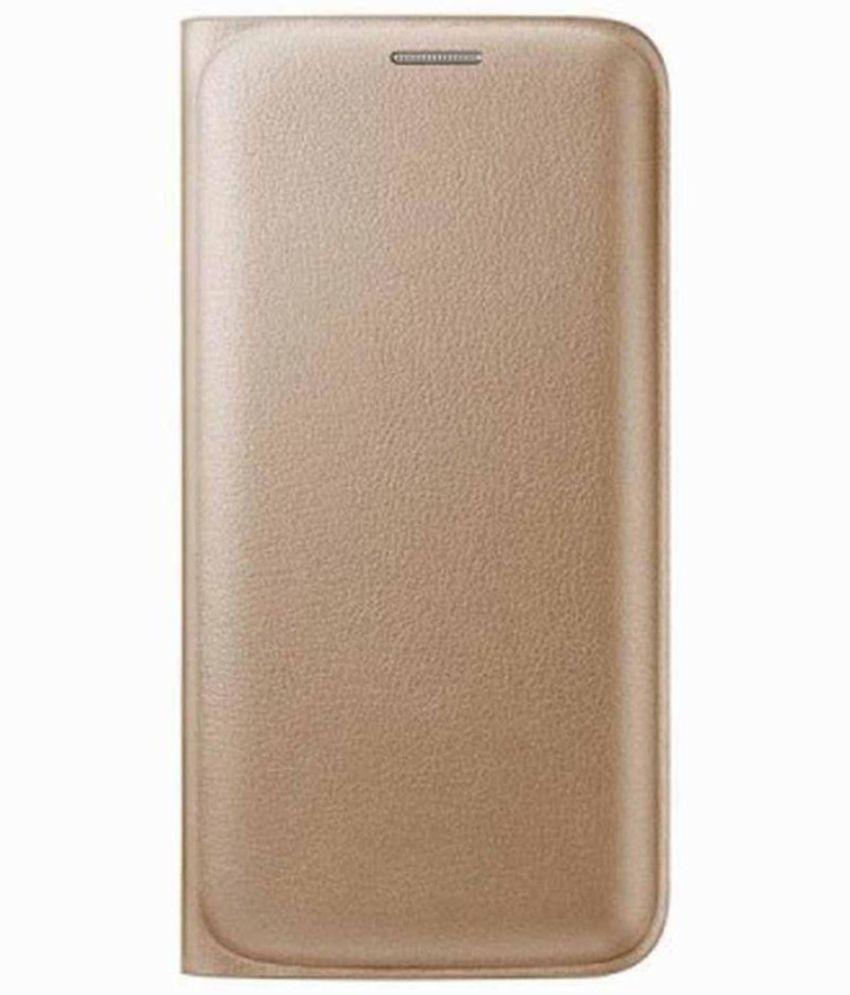 Samsung Galaxy Grand i9082 Flip Cover by MV - Golden