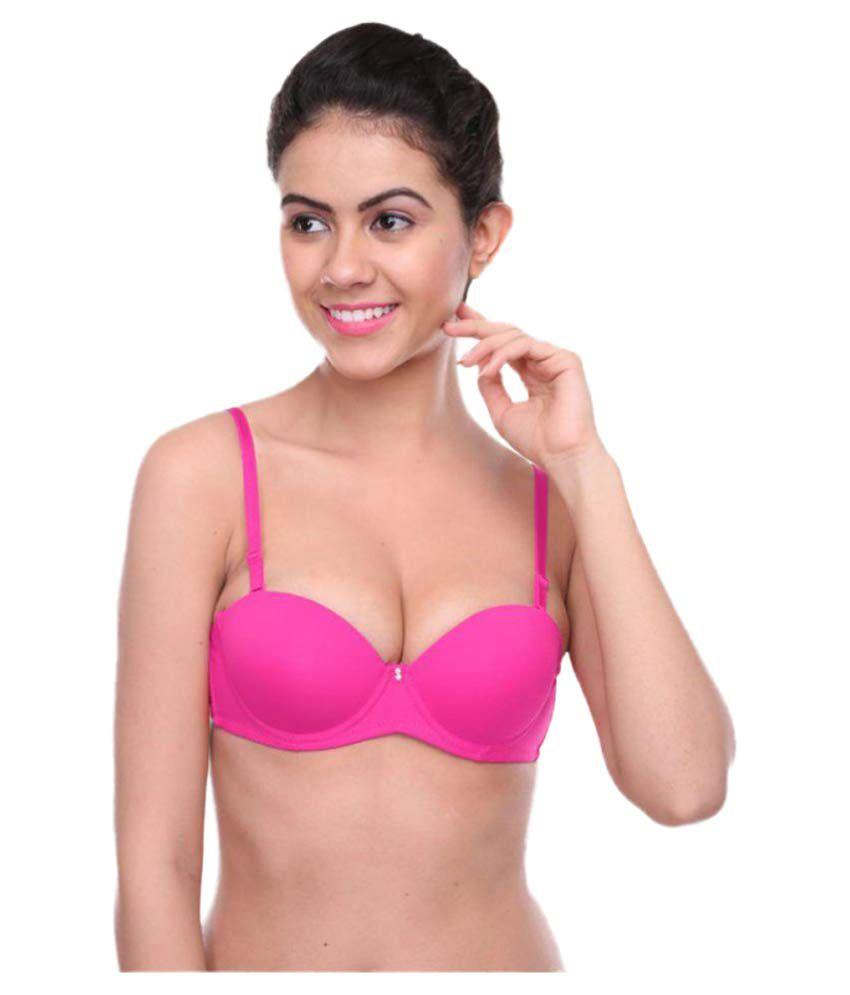 7b4eda982 Buy Feminin Nylon Push Up Bra Online at Best Prices in India - Snapdeal