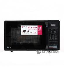 LG 21 Ltrs MC2146BL Convection Microwave Oven Black