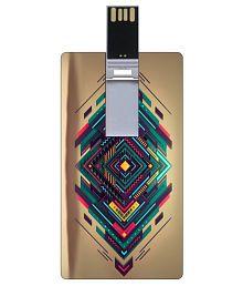 Go Hooked GHCCPDRV8GB-2242 8GB USB 2.0 Fancy Pendrive Multi