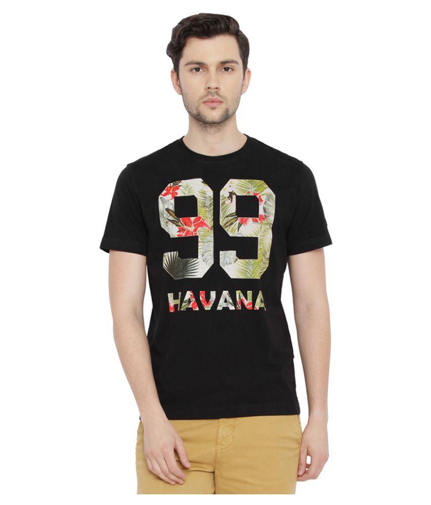 Parx Black Round T-Shirt