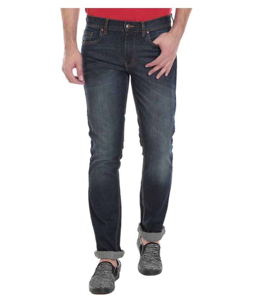Vudu Dark Blue Slim Jeans